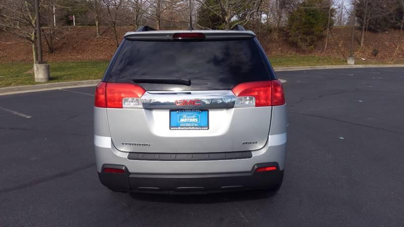 2011 GMC Terrain AWD SLE-2 4dr SUV - Charlottesville VA