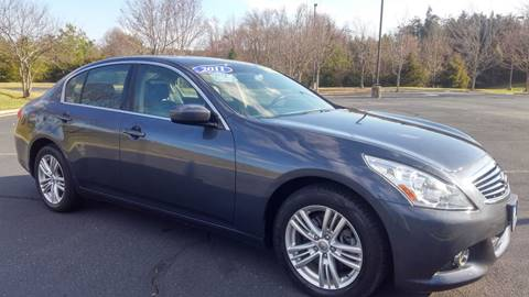 2011 Infiniti G25 Sedan for sale in Charlottesville, VA
