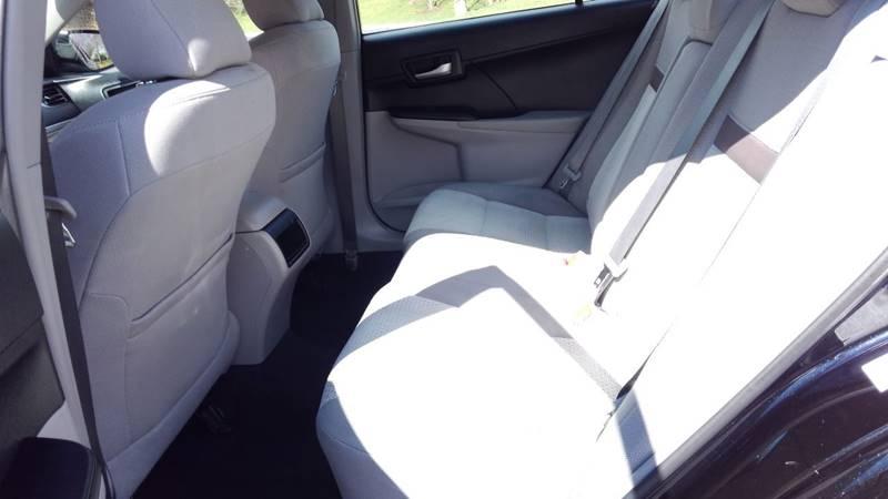 2014 Toyota Camry LE 4dr Sedan - Charlottesville VA