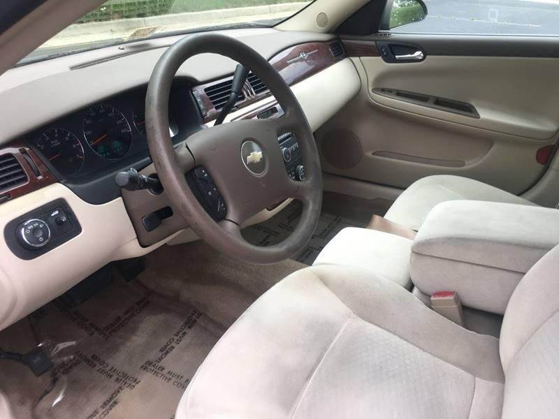 2007 Chevrolet Impala LT 4dr Sedan - Charlottesville VA