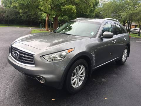 2013 Infiniti FX37 for sale in West Park, FL