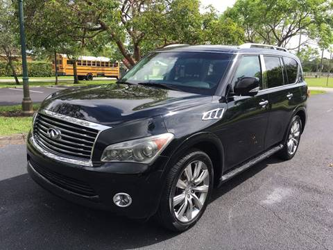 2011 Infiniti QX56 for sale in West Park, FL