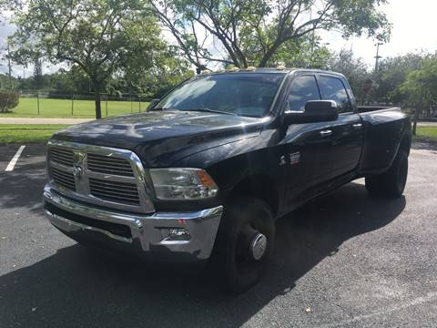 2010 Dodge Ram Pickup 3500 for sale in West Park, FL