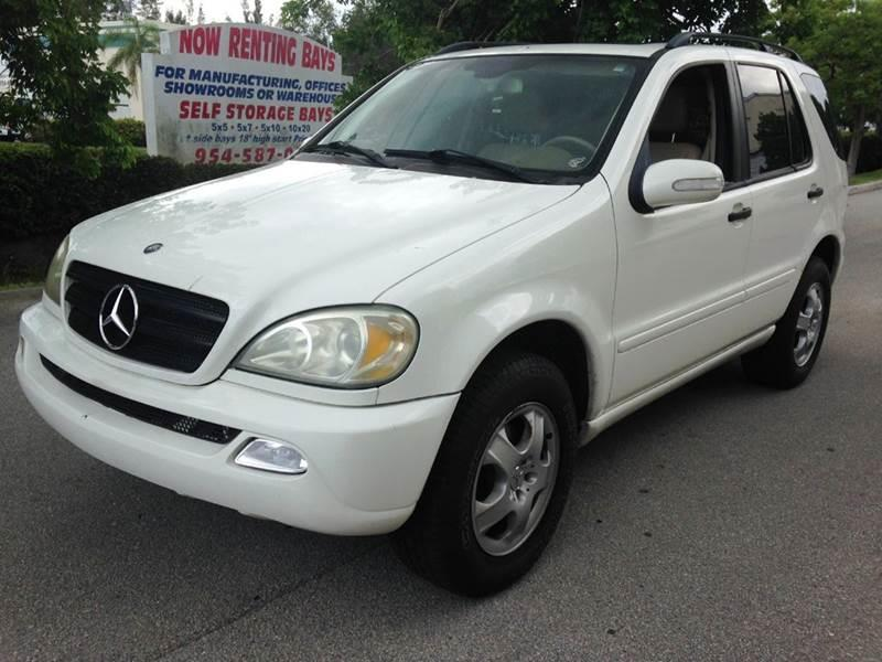 2003 mercedes benz m class ml350 awd 4matic 4dr suv in