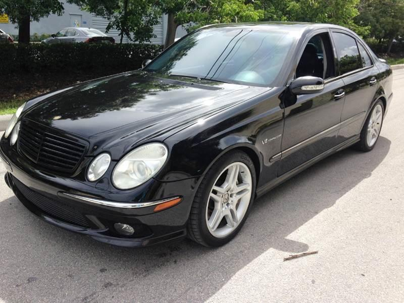 2005 mercedes benz e class e55 amg 4dr sedan in west park for 2005 mercedes benz e55 amg