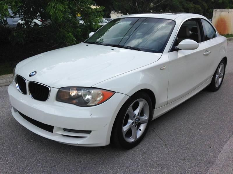 2008 Bmw 1 Series 128i 2dr Coupe In West Park FL - Auto D Corp