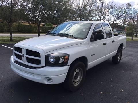 2008 Dodge Ram Pickup 1500 for sale in West Park, FL