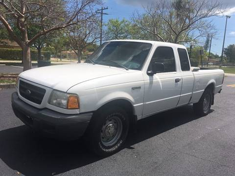 2001 Ford Ranger for sale in West Park, FL