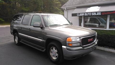 2001 GMC Yukon XL for sale in Dartmouth, MA