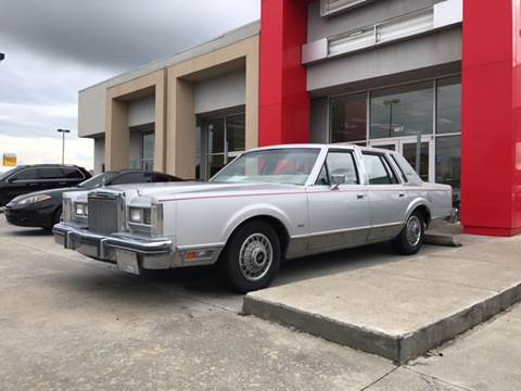 1984 Lincoln Town Car For Sale Carsforsale Com