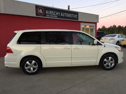 2009 Volkswagen Routan for sale at Hirschy Automotive in Fort Wayne IN