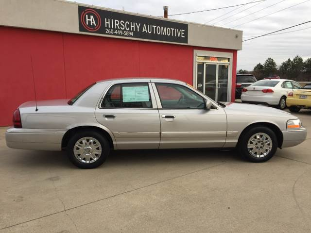 2005 Mercury Grand Marquis for sale at Hirschy Automotive in Fort Wayne IN