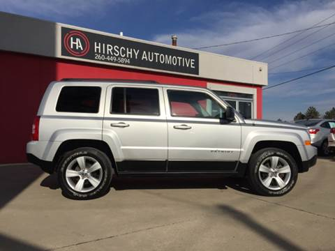 2013 Jeep Patriot for sale at Hirschy Automotive in Fort Wayne IN