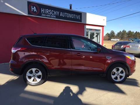2014 Ford Escape for sale at Hirschy Automotive in Fort Wayne IN