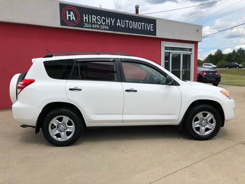 2010 Toyota RAV4 for sale at Hirschy Automotive in Fort Wayne IN