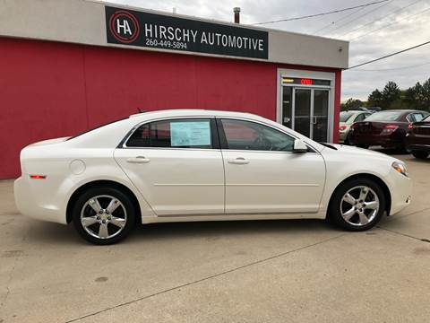 2011 Chevrolet Malibu for sale at Hirschy Automotive in Fort Wayne IN