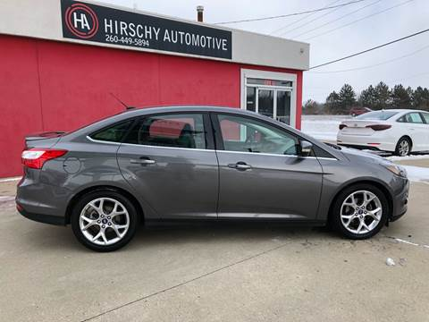 2013 Ford Focus for sale at Hirschy Automotive in Fort Wayne IN