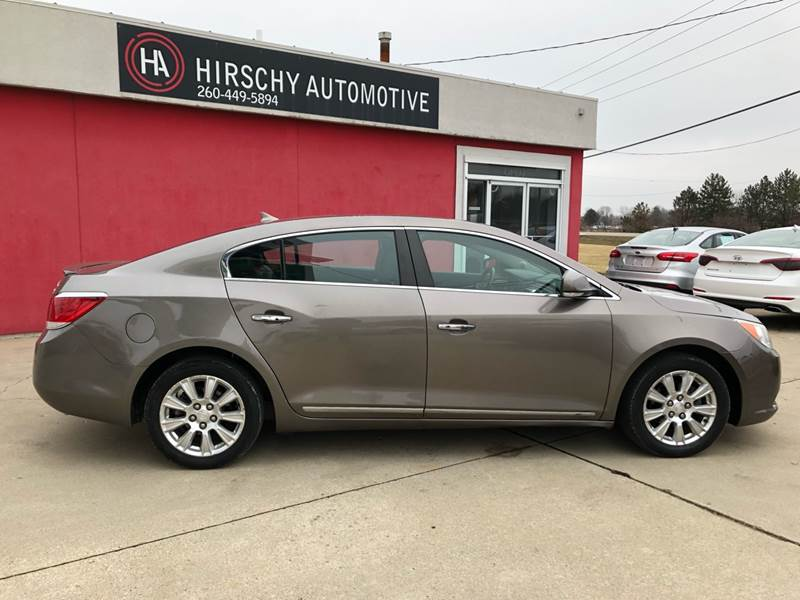 2012 Buick LaCrosse for sale at Hirschy Automotive in Fort Wayne IN