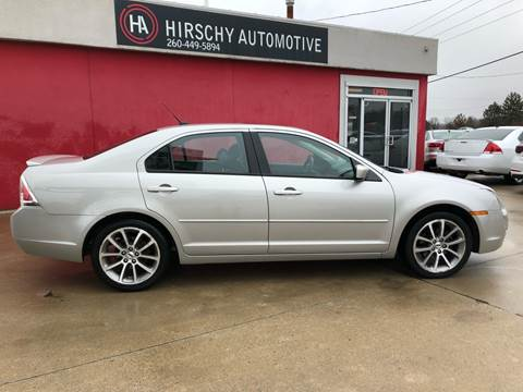 2008 Ford Fusion for sale at Hirschy Automotive in Fort Wayne IN