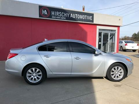2013 Buick Regal for sale at Hirschy Automotive in Fort Wayne IN