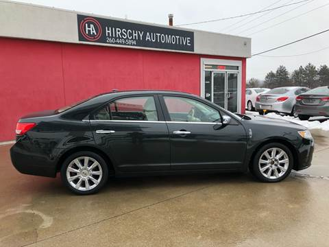 2010 Lincoln MKZ for sale at Hirschy Automotive in Fort Wayne IN