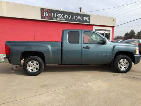 2010 Chevrolet Silverado 1500 for sale at Hirschy Automotive in Fort Wayne IN