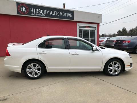 2012 Ford Fusion for sale at Hirschy Automotive in Fort Wayne IN