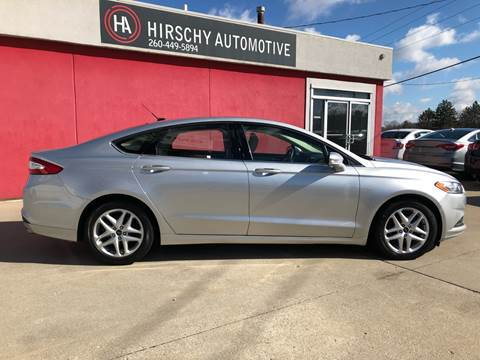 2016 Ford Fusion for sale at Hirschy Automotive in Fort Wayne IN