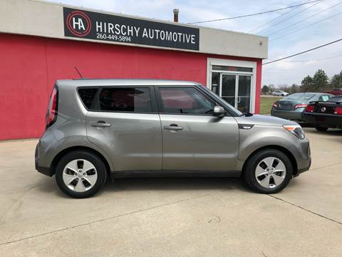 2014 Kia Soul for sale at Hirschy Automotive in Fort Wayne IN
