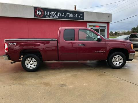 2007 GMC Sierra 1500 for sale at Hirschy Automotive in Fort Wayne IN