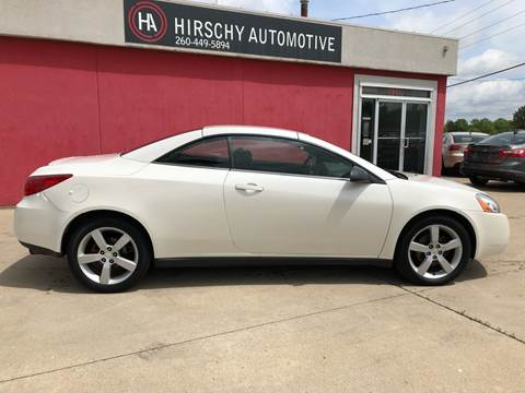 2007 Pontiac G6 for sale at Hirschy Automotive in Fort Wayne IN