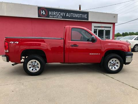 2008 GMC Sierra 1500 for sale at Hirschy Automotive in Fort Wayne IN