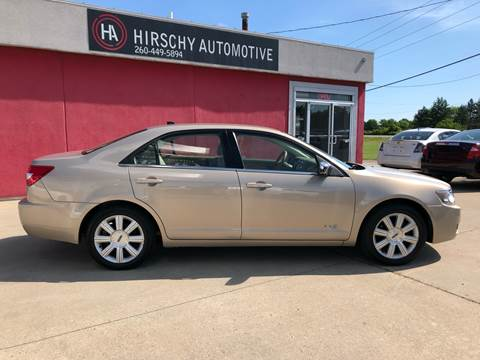 2008 Lincoln MKZ for sale at Hirschy Automotive in Fort Wayne IN