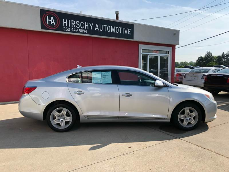 2010 Buick LaCrosse for sale at Hirschy Automotive in Fort Wayne IN