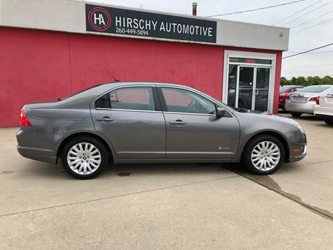 2011 Ford Fusion Hybrid for sale at Hirschy Automotive in Fort Wayne IN