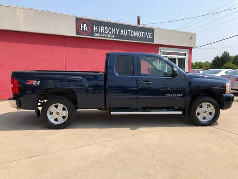 2011 Chevrolet Silverado 1500 for sale at Hirschy Automotive in Fort Wayne IN