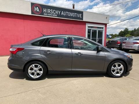2014 Ford Focus for sale at Hirschy Automotive in Fort Wayne IN