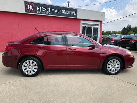 2014 Chrysler 200 for sale at Hirschy Automotive in Fort Wayne IN