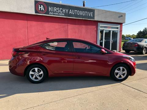2014 Hyundai Elantra for sale at Hirschy Automotive in Fort Wayne IN
