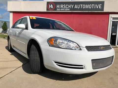 2012 Chevrolet Impala for sale in Fort Wayne, IN