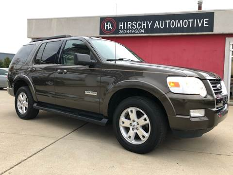 2008 Ford Explorer for sale at Hirschy Automotive in Fort Wayne IN