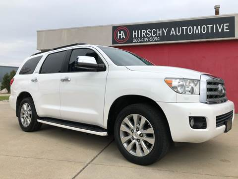 2012 Toyota Sequoia for sale at Hirschy Automotive in Fort Wayne IN