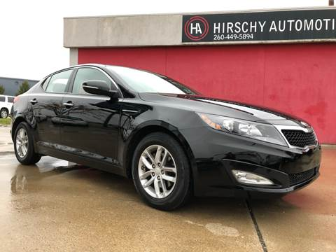 2013 Kia Optima for sale at Hirschy Automotive in Fort Wayne IN