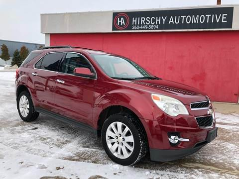 2011 Chevrolet Equinox for sale at Hirschy Automotive in Fort Wayne IN