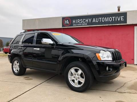 2007 Jeep Grand Cherokee for sale at Hirschy Automotive in Fort Wayne IN
