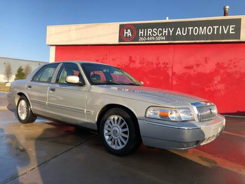 2008 Mercury Grand Marquis for sale at Hirschy Automotive in Fort Wayne IN