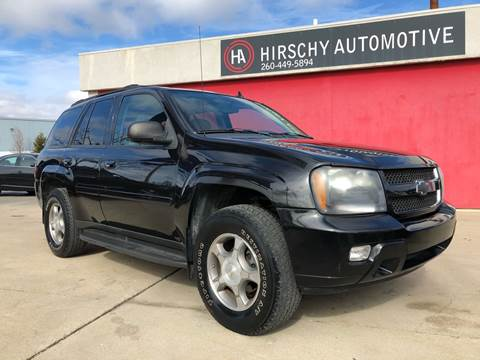 2008 Chevrolet TrailBlazer for sale at Hirschy Automotive in Fort Wayne IN
