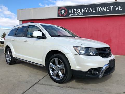 2017 Dodge Journey for sale at Hirschy Automotive in Fort Wayne IN