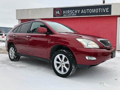 2009 Lexus RX 350 for sale at Hirschy Automotive in Fort Wayne IN