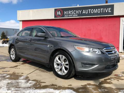 2011 Ford Taurus for sale at Hirschy Automotive in Fort Wayne IN